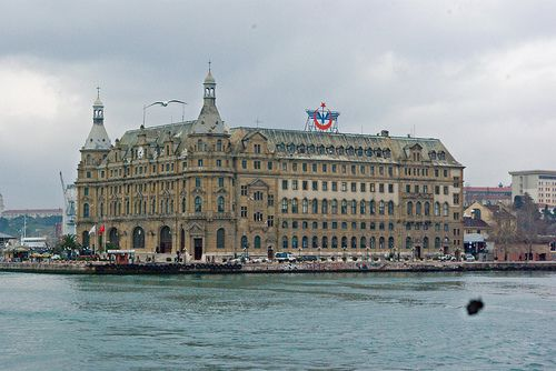 Haydarpasa Station, Istanbul, Turkey