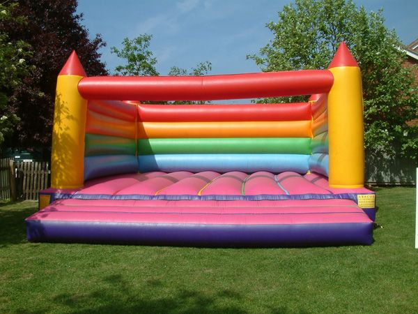 Bouncy Castle for the kids for highschool reunion bbq at the park.