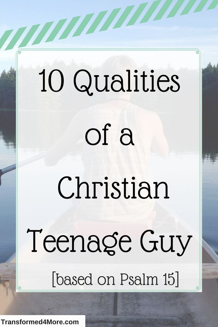 Christian guide to teenage dating