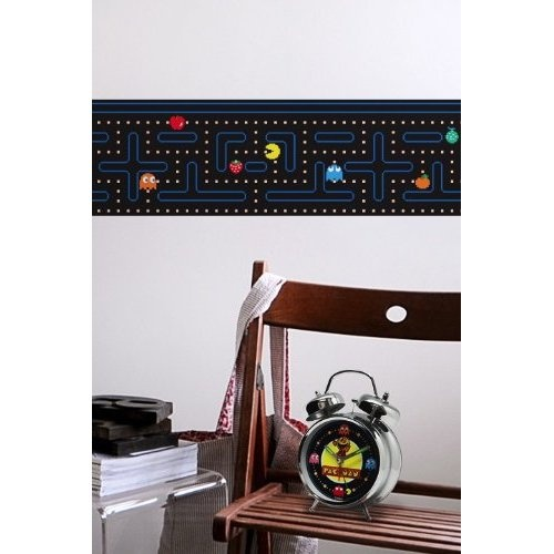 Blik pac man border wall stickers for the home pinterest - Blik wall stickers ...