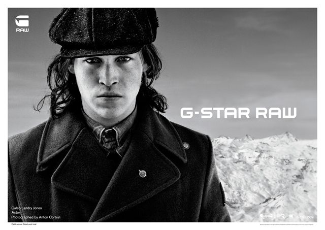 Anton Corbijn  G-Star - Automne Hiver 2012 - Homme - Caleb Landry Jones