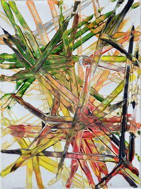 "Saatchi Art Artist Para Skevi; Painting, ""Random"" #art"