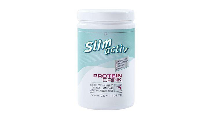 Slim Activ Протеиновый напиток http://lnk.al/2QsM  Страна производстваГермания Бренд LRSlim Activ Объем350 гр Протеиновый напиток повышает белковую ценность рациона, способствует более эффективной коррекции веса. Поддерживает мышечную массу, стимулирует сжигание жиров, обеспечивает сытость. Протеин предупреждает эффект «йо-йо» (колебания веса).  80% состава - белок; уникальный состав белка (5 видов: казеин, сывороточный, молочный, соевый, яичный). 10 г. белка в порции сухой смеси или 13…