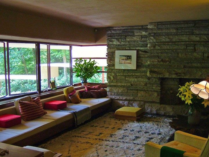 Frank Lloyd Wright, Falling Water House 1939, Pennsylvania