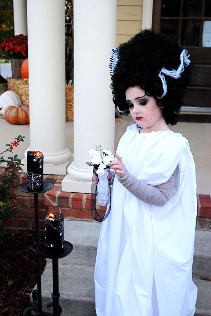 DYI/Martha Stewart Costume Bride of Frankenstein ...