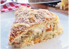 Aprenda a fazer uma torta salgada deliciosa com as sobras do arroz - Gastronomia - Bonde. O seu portal