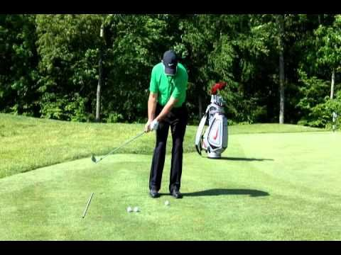 Golf Lessons - Chipping - Consistent, Solid Contact - YouTube