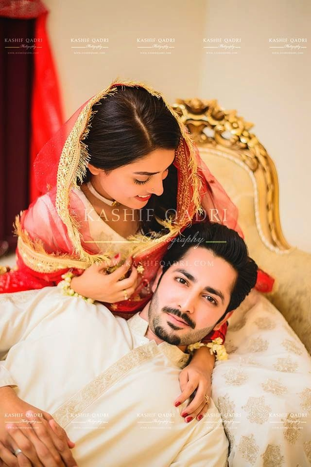 Aiza Khan and Danish Taimoor's Lovely Wedding Pictures Gallery