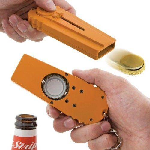 Cap Zappa Bottle Opener Cap Launcher