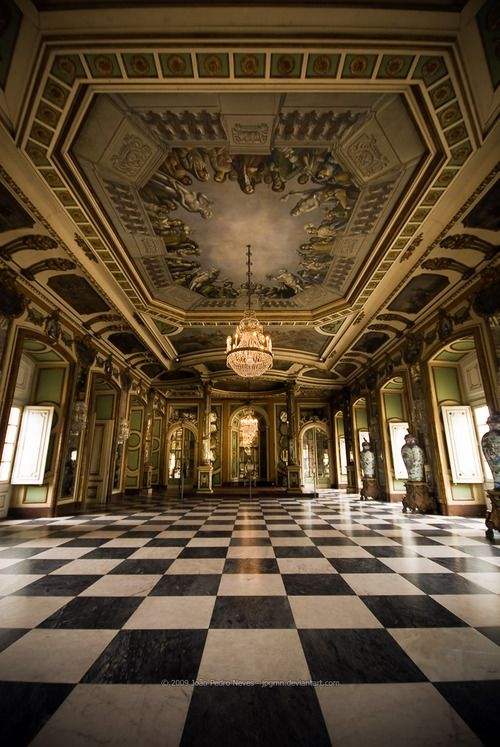 The Queluz National Palace~Lisbon, Portugal.
