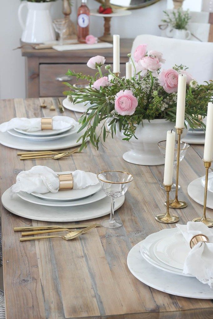 Pink Mothers Day Tablescape Rooms For Rent Blog Pretty In Pink Tablescapes Flower Centerpieces