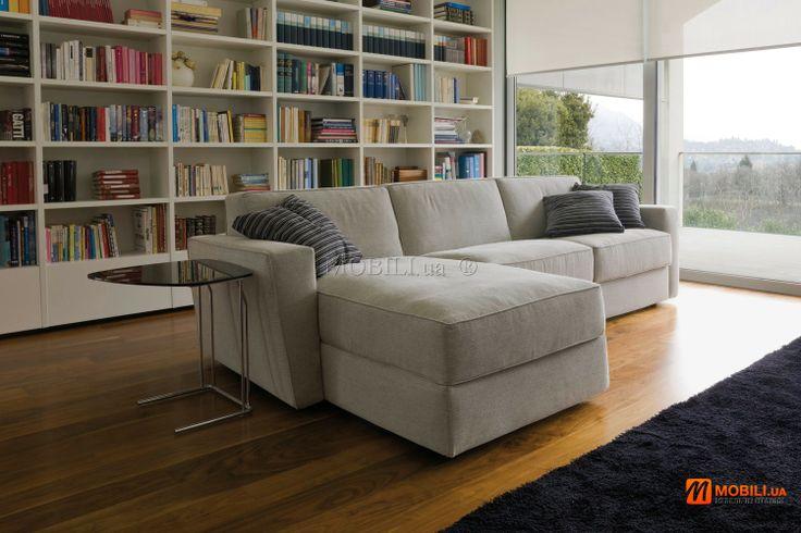 AMAZON угловой диван кровать раскладной с ортопедическим матрасом, итальянский MOBILI DIVANI  (1)