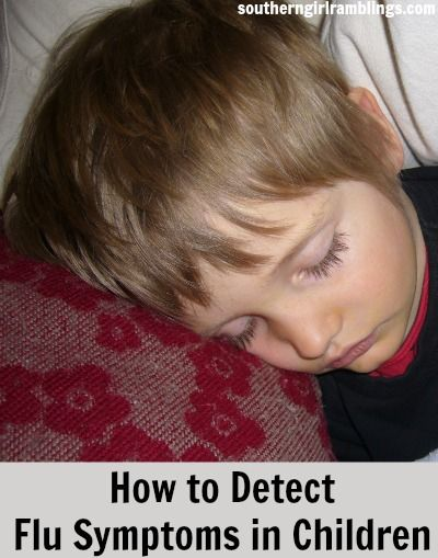 How to Detect Flu Symptoms in #Children #health #parenting