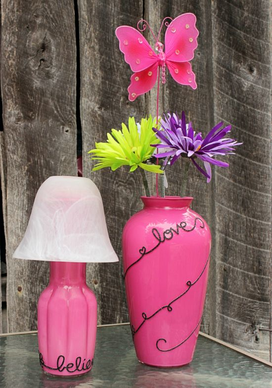 Makeover Flower Vases From BigBearsWife.com