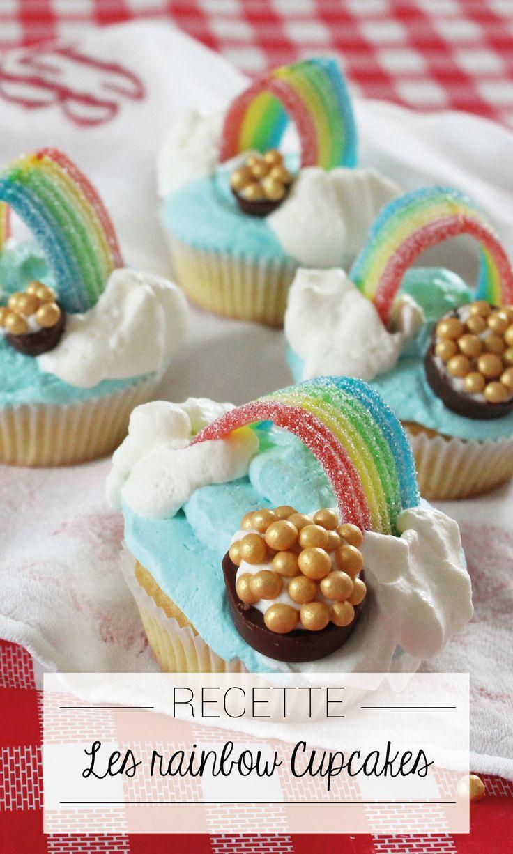 Apprenez à réaliser ces cupcakes arc-en-ciel !