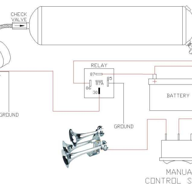 Wiring Diagram Cars Trucks Inspirational Truck Horn Wiring Wiring Diagrams Of Wiring Diagram Cars Trucks Truck Horn Electrical System Cars Trucks