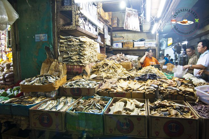 Variety of Dried Fish