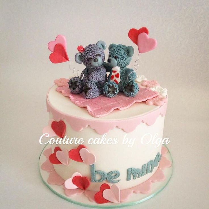 208 best valentines images on Pinterest | Anniversary cakes ...