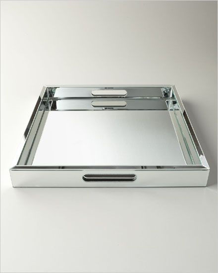 Large Mirrored Tray — Bellissimo!