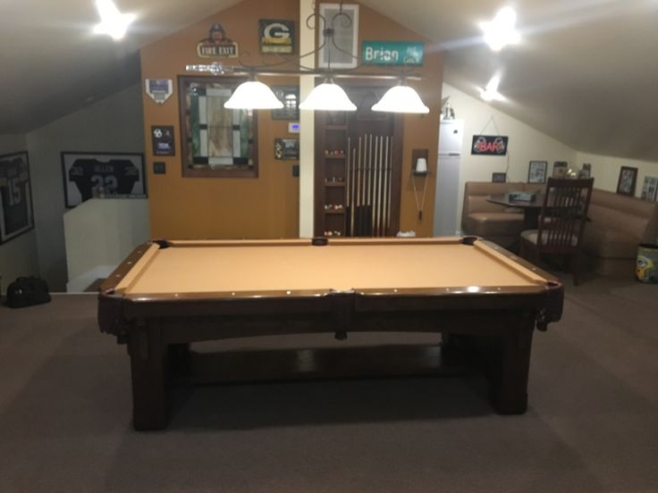 Here Is A Recovery Of A Customeru0027s Pool Table. We Give It A Face Lift