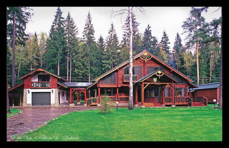 В гостях у сказки : Дома в стиле кантри от D&T Architects