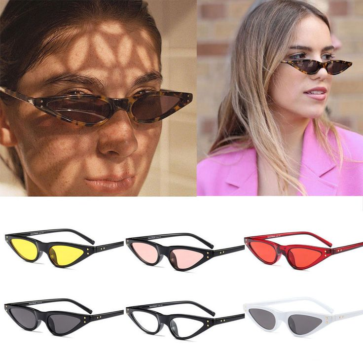 <b>New Small</b> Cat Eye Sunglasses Outdoor Women Fashion Shades ...
