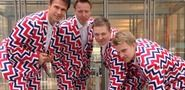 Norway's Wild Curling Uniforms Would Make Willy Wonka Blush
