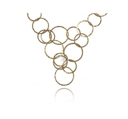 #necklace #gold #woman #chic