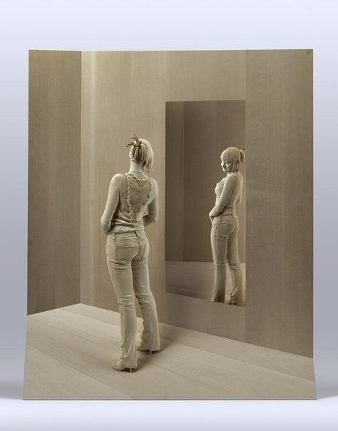 Деревянные фигуры ручной работы by Peter Demetz
