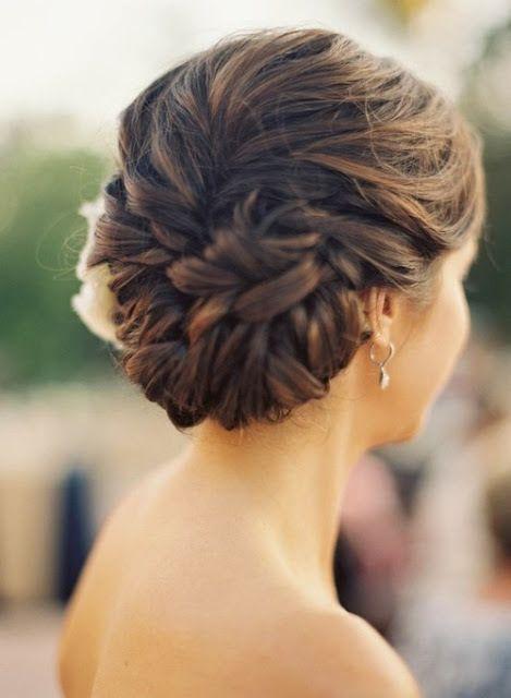 conch shell braid for bridesmaids love nae nae!