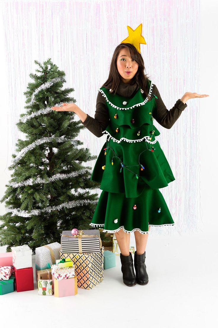 felt christmas tree costume pattern christmas imagess club