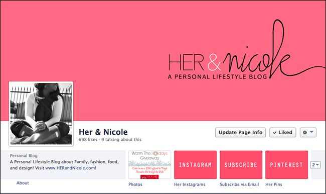 Spruce up your Facebook Page!