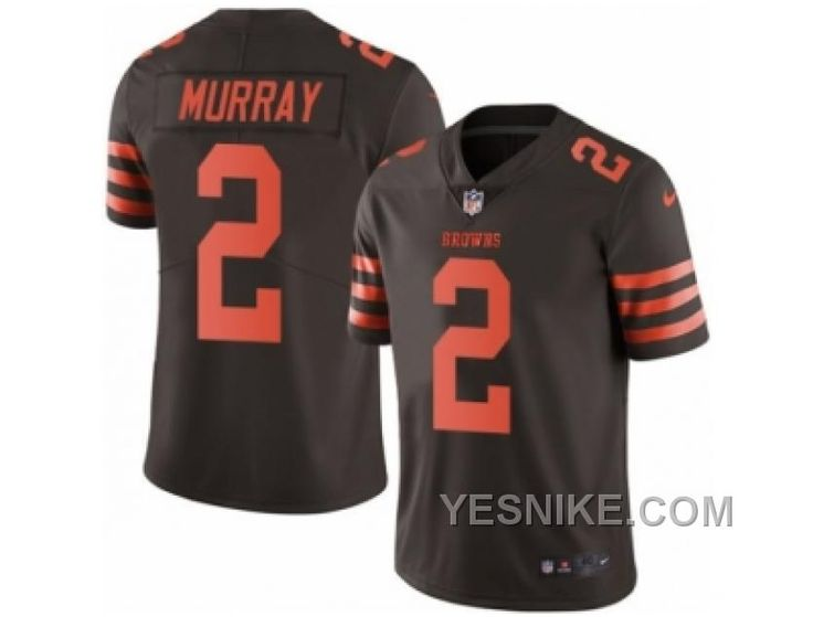http://www.yesnike.com/big-discount-66-off-mens-nike-cleveland-browns-2-patrick-murray-elite-brown-rush-nfl-jersey.html BIG DISCOUNT ! 66% OFF ! MEN'S NIKE CLEVELAND BROWNS #2 PATRICK MURRAY ELITE BROWN RUSH NFL JERSEY Only $26.00 , Free Shipping!