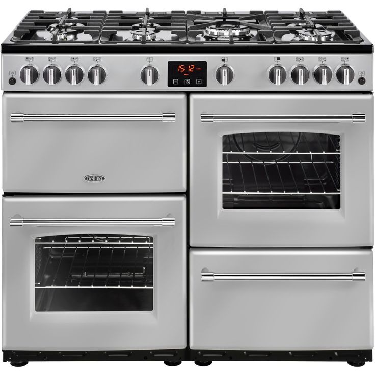 Belling Farmhouse 100G Gas Range Cooker - Silver In its silver finish, the Belling Farmhouse 100G is a gas range cooker that will sparkle your kitchen with its elegant presence to make for an ideal new addition to your kitchen. With 4 cavities to us http://www.MightGet.com/february-2017-2/belling-farmhouse-100g-gas-range-cooker--silver.asp