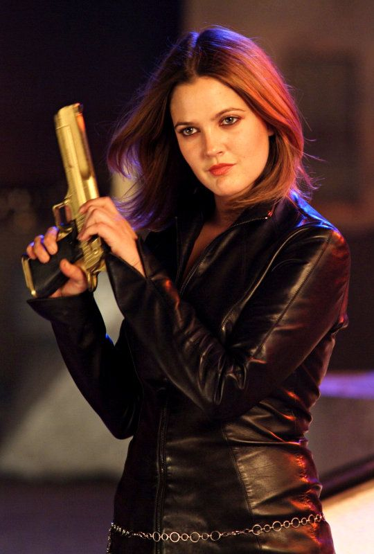 Drew Barrymore in Charlies Angels