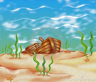 arcas de tesouros no fundo do mar - Pesquisa Google