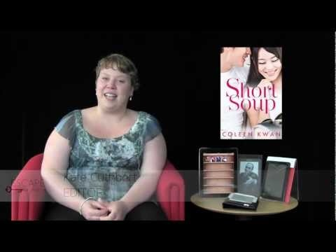 Escape Publishing editor Kate Cuthbert gives her take on why you'll love #ShortSoup by Coleen Kwan #book #review #contemporary #romance #AWW #multicultural