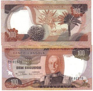 Money Talks: Angola 100 Escudos 24.11.1972 - Pick 101