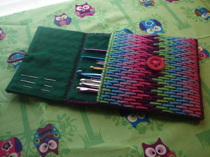 hook and needle case