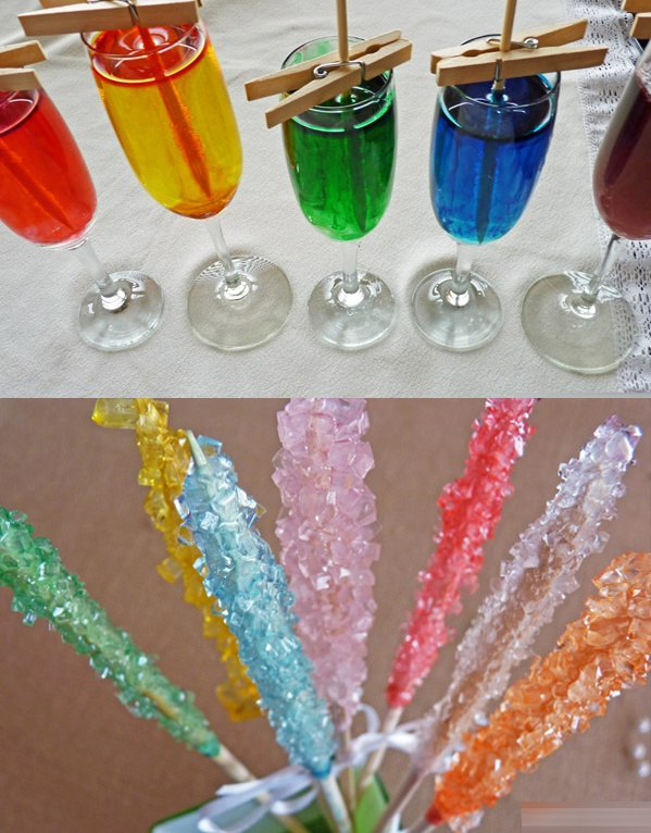 Rock Candy Tutorial/Recipe  #rock #candy