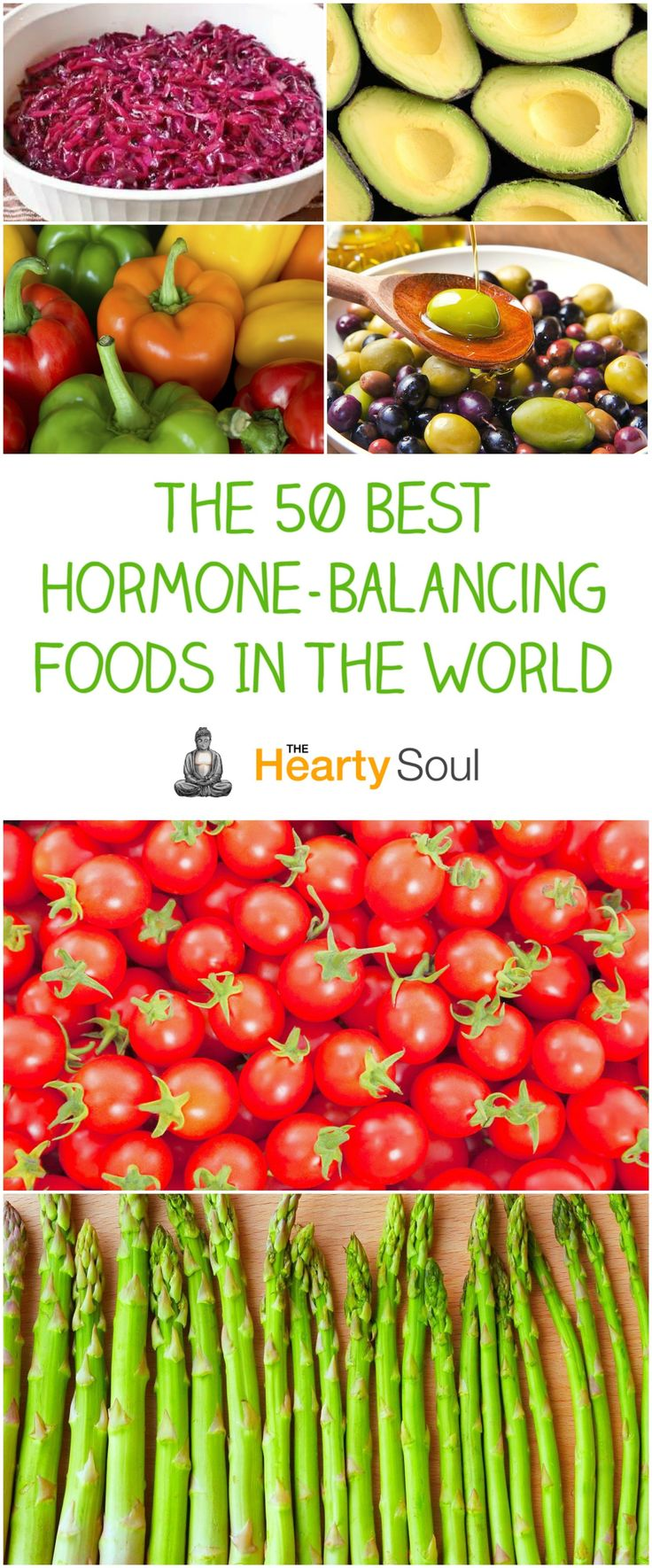 The 50 Best Hormone-Balancing Foods In The World