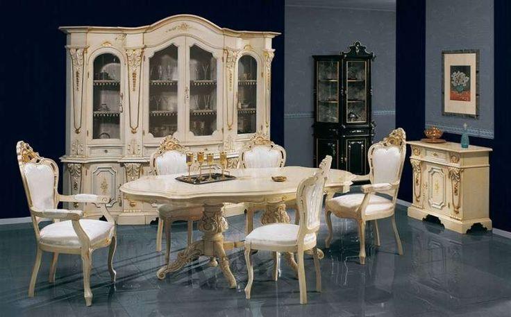 Oltre 25 fantastiche idee su camera da letto in stile barocco su pinterest letti neri letto - Sala da pranzo stile barocco ...