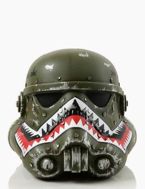 ... Spitfire Sharktooth Stormtrooper helmet.
