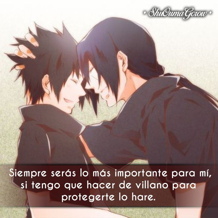 Siempre seras #ShuOumaGcrow #Anime #Frases_anime #frases