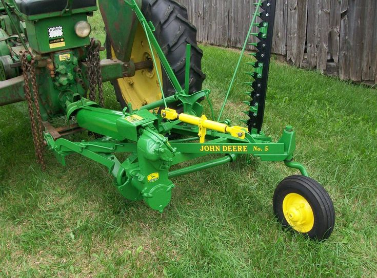 Mowed many acres of hay with one of these john deere pinterest see more ideas about tractor for Sickle mower for garden tractor