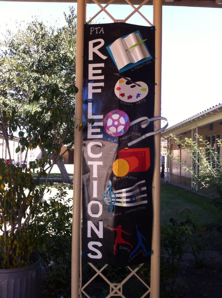 PTA Reflection Banner.