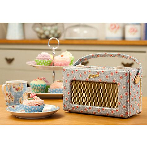 ROBERTS Cath Kidston Limited Edition Revival RD60 DAB Digital Radio, Kempton Rose http://tidd.ly/7bc142b9