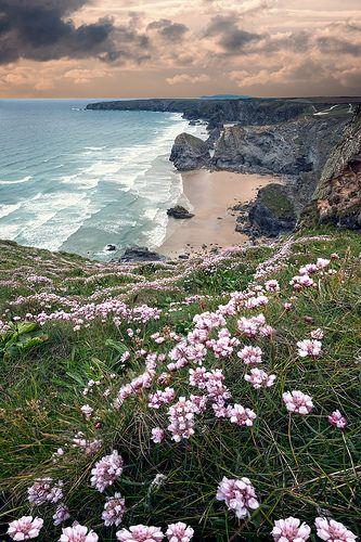 Bedruthan Steps North Cornwall.   | da Ray Bradshaw.