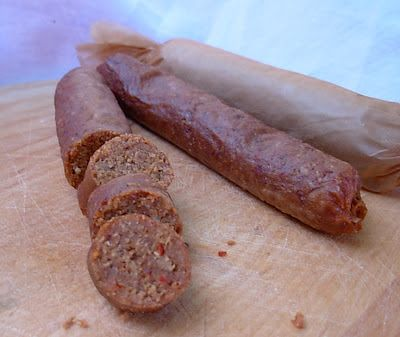 From Kirsten's Kitchen to Yours: Merguez Sausage (Vegan) - DIY Pantry
