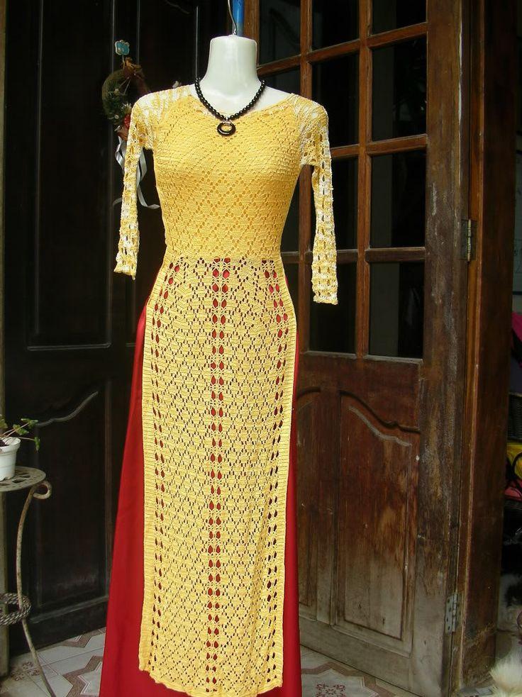 Những chia sẻ về móc áo dài - Blogs - Hội Thêu Thùa